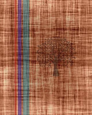 Old Fabric Art Print by Thomas M Pikolin