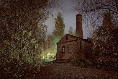 Photograph - Old Factory Ruins by Teemu Tretjakov