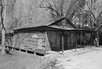 Photograph - Old Fairfield South Carolina Store Bw by Joseph C Hinson Photography