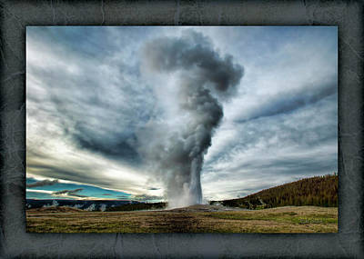 Photograph - Old Faithful by Mike Braun