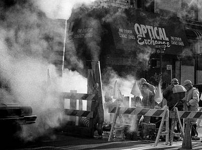 Photograph - Old Faithful New York by Dave Beckerman