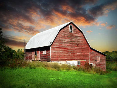 Photograph - Old Farm 10 by William Tanata