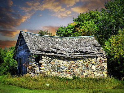 Photograph - Old Farm 11 by William Tanata