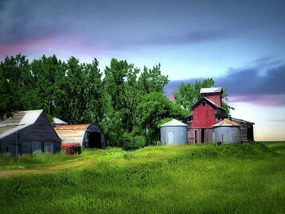 Photograph - Old Farm 12 by William Tanata