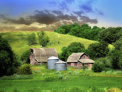 Photograph - Old Farm 3 by William Tanata