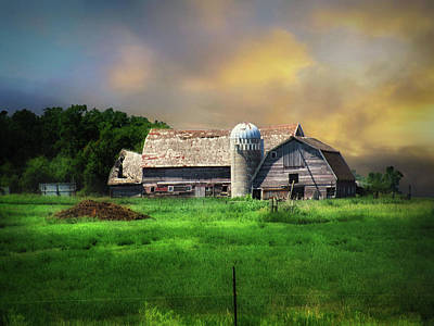Photograph - Old Farm 5 by William Tanata