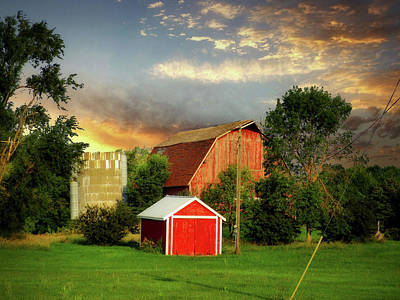 Photograph - Old Farm 6 by William Tanata