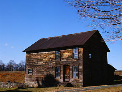 Photograph - Old Farm Building by Paul Ross