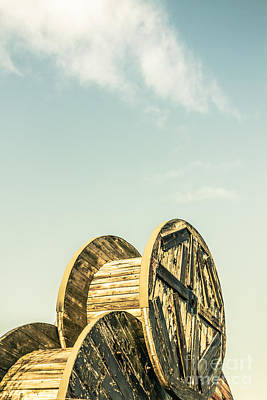 Bobbins Photograph - Old Farm Details by Jorgo Photography - Wall Art Gallery