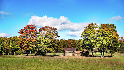 Photograph - Old Farm House by Onyonet  Photo Studios