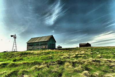 Aloha For Days - Old farm in North Dakota by Jeff Swan