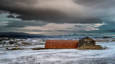 Photograph - Old Farm by James Billings