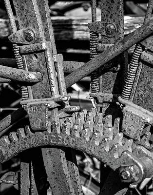Photograph - Old Farm Machinery #2 by Allen Sheffield