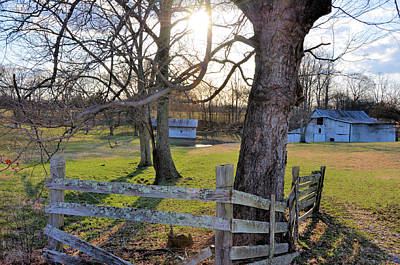 Photograph - Old Farm On Byrd Lane by Jan Amiss Photography