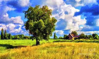 Photograph - Old Farm by Rick Bragan
