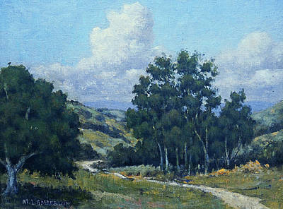 Painting - Old Farm Road by Marv Anderson