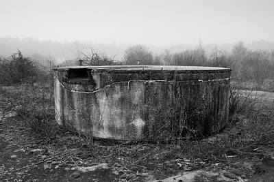Photograph - Old Farm Silo Foundation by David Gordon