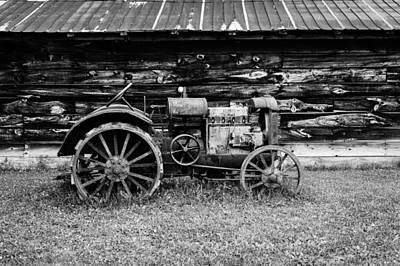 Photograph - Old Farm Tractor by M G Whittingham