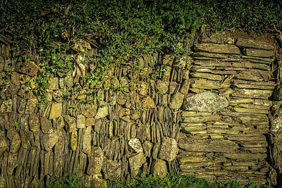 Photograph - Old Farm Wall by Lee Harris