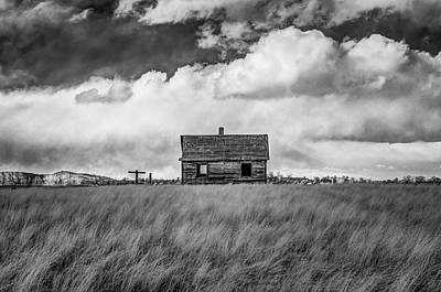 Photograph - Old Farmhouse by G Wigler