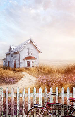 Photograph - Old Farmhouse Near The Ocean by Sandra Cunningham