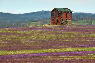 Photograph - Old Farmhouse by Steve Stuller