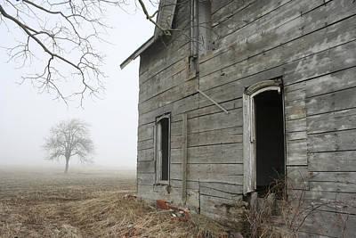 Photograph - Old Farmstead by Kathy Stanczak