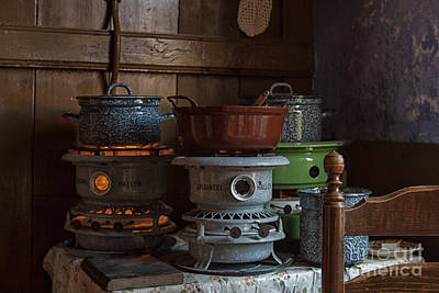 Photograph - Old Fashioned Cooking On Primus by Patricia Hofmeester
