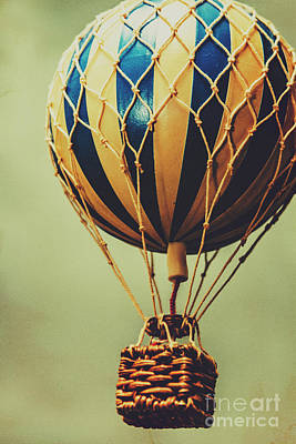Hot Air Balloon Photograph - Old-fashioned Exploration by Jorgo Photography - Wall Art Gallery
