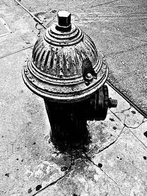 Photograph - Old-fashioned Fire Hydrant - Vintage New York City Icon by Miriam Danar