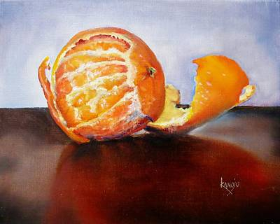 Painting - Old Fashioned Orange by Wendy Winbeckler - Kanojo