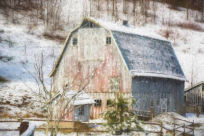 Photograph - Old Fashioned Values - Country Art by Jordan Blackstone