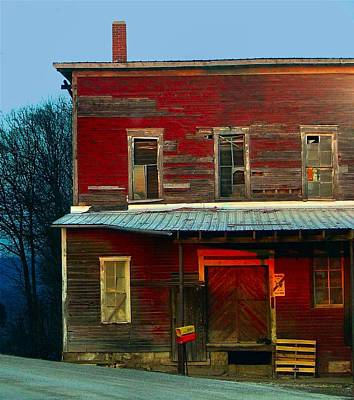 Julie Riker Dant Photograph - Old Feed Mill In The Afternoon by Julie Dant