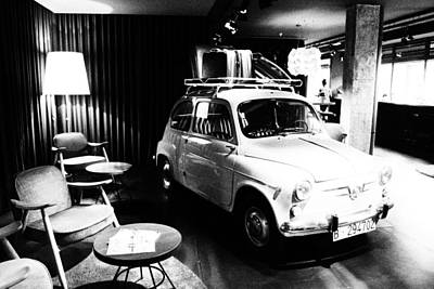 Photograph - Old Fiat 600 01 by Dora Hathazi Mendes