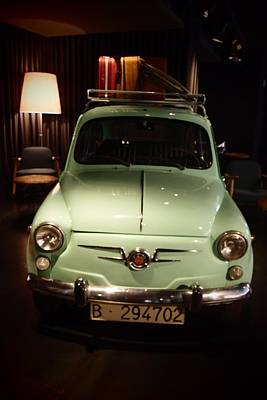 Photograph - Old Fiat 600 03 by Dora Hathazi Mendes