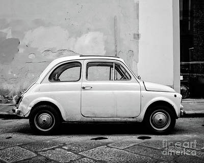 Photograph - Old Fiat Florence Italy by Edward Fielding