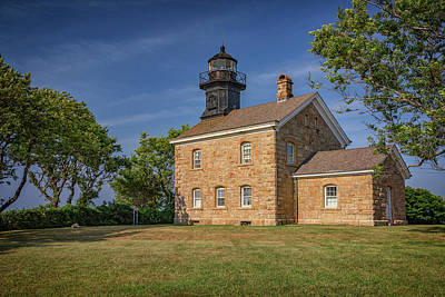 Photograph - Old Field Point Lighthouse by Rick Berk