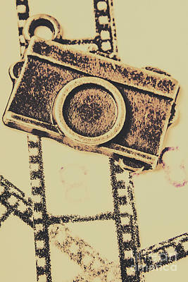 Vintage Camera Photograph - Old Film Camera by Jorgo Photography - Wall Art Gallery