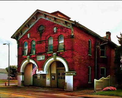 Photograph - Old Firehouse No. 10 by Julie Dant