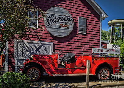 Photograph - Old Firehouse Winery by Janice Rae Pariza
