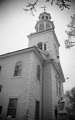 Photograph - Old First Church by John Schneider
