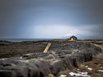 Photograph - Old Fisherman's Coastal House by Benjamin Wiedmann