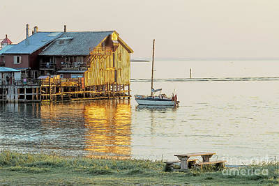 Photograph - Old Fishermans Shack In Norway by Heiko Koehrer-Wagner