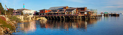 Old Fishermans Wharf, Monterey Art Print by Panoramic Images