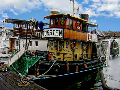 Photograph - Old Fishing Boat by Anthony Dezenzio