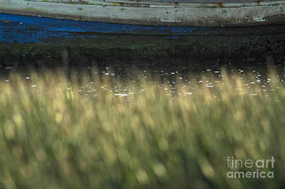 Fishing Boat Photograph - Old Fishing Boat On The Water by Angelo DeVal