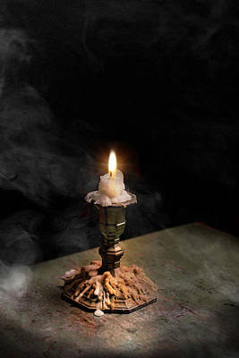 Photograph - Old Flame by Robin-Lee Vieira