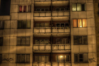 Digital Art - Old Flats by Nathan Wright