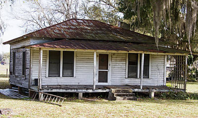 Photograph - Old Florida-1 by Lamarre Labadie