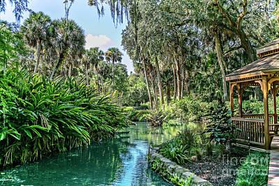 Photograph - Old Florida by Richard Burr